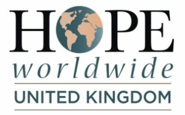 logo of hope worldwide in the UK