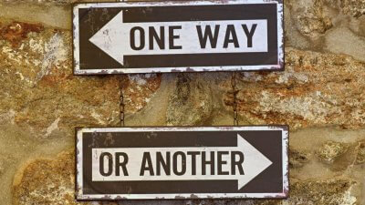 one way or another signs choice